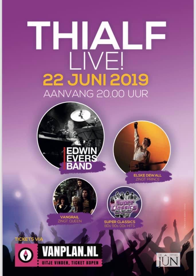Thialf Live! poster