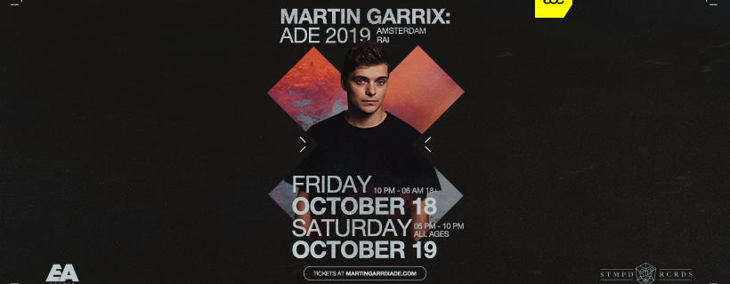 Martin Garrix ADE 2019 - Bron: Persbericht E&A Events