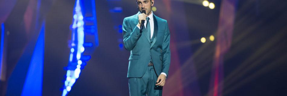 Marco Mengoni tijdens het songfestival in 2013. Fotocredits: Albin Olsson License: CC BY-SA 3.0