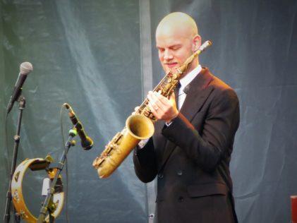 Jazzformatie BRUUT! tijdens Kadeconcert 2019 in Utrecht | Fotograaf Djuna Vaesen (Artiesten Nieuws)