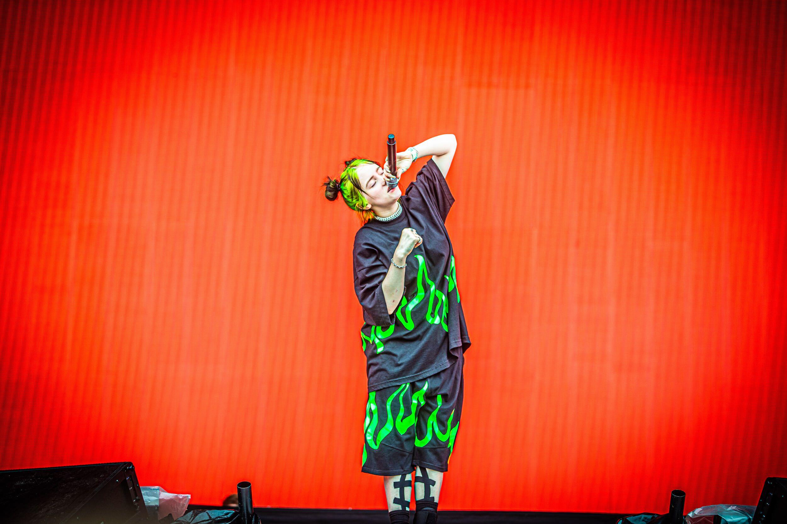 Billie Eilisch tijdens Pukkelpop 2019 - Fotocredits: Philippe - Bron: Persfoto Pukkelpop