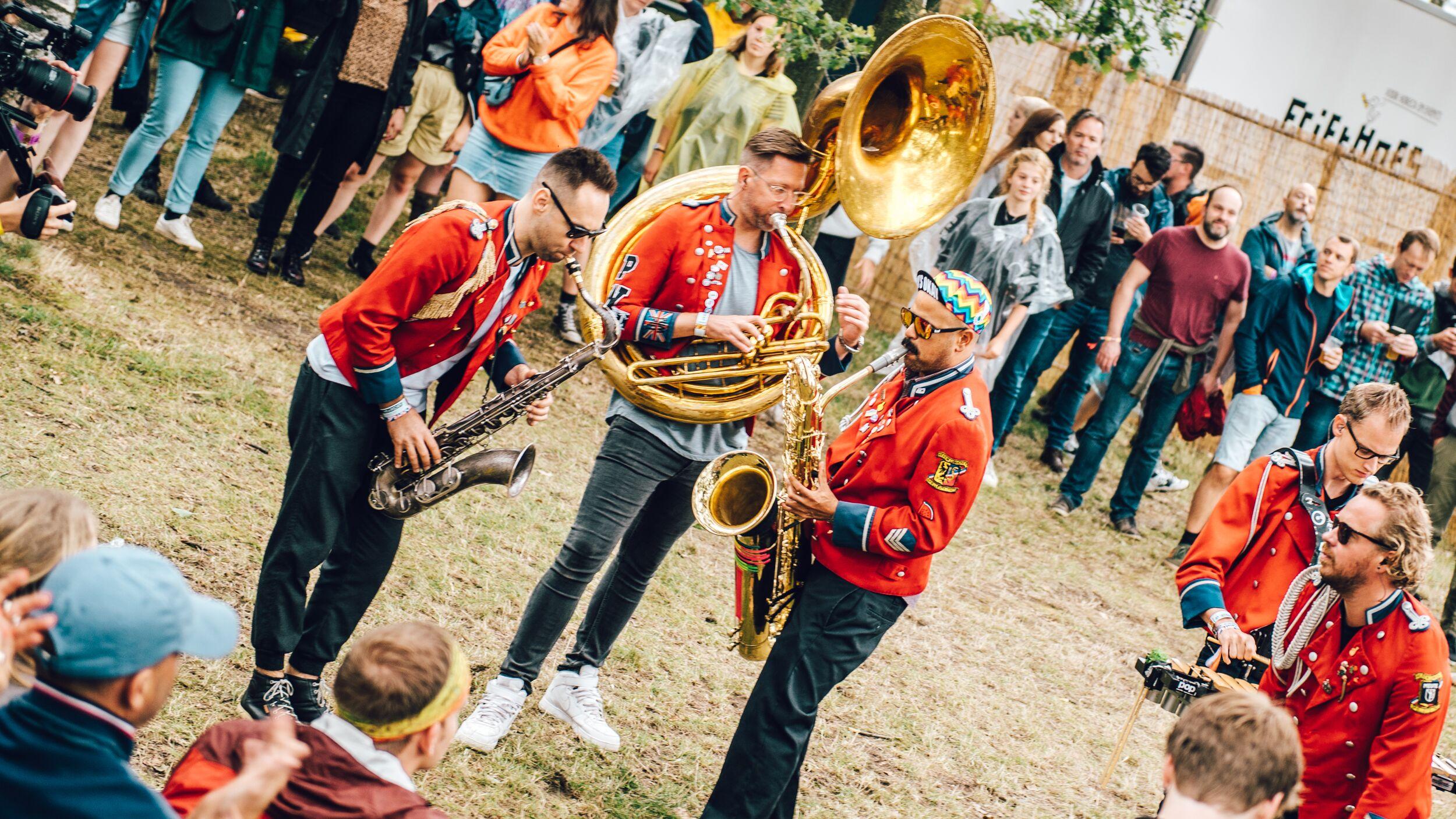 Meute tijdens Pukkelpop 2019 - Fotocredits: Michiel Jaspers - Bron: Persfoto Pukkelpop