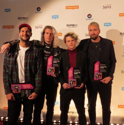 Kris Kross Amsterdam tijdens Buma NL Awards - Michael Dijkstra (Artiesten Nieuws)