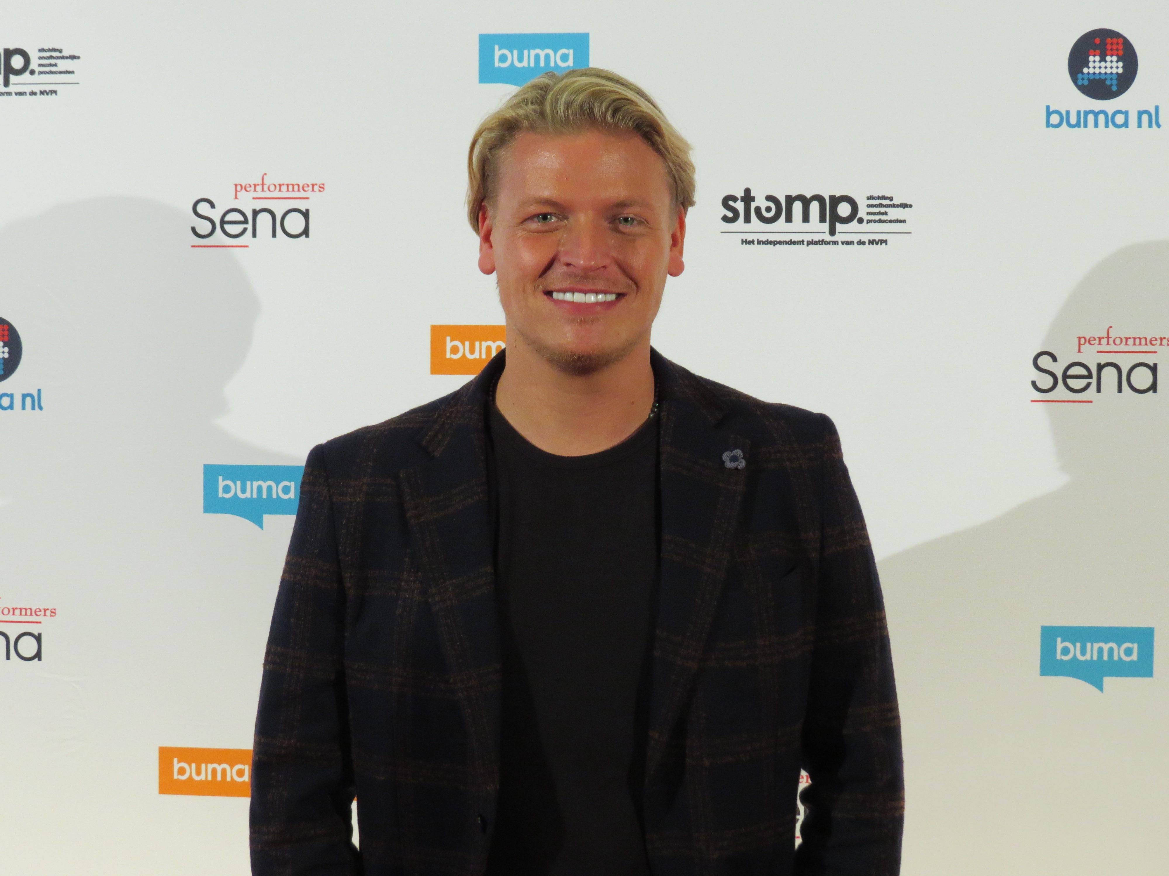 Thomas Berge tijdens Buma NL Awards 2019 - Michael Dijkstra (Artiesten Nieuws)