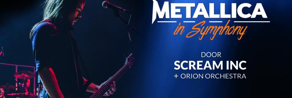 Metallica in Symphony door Scream Inc. - Foto: Mail Trib Events