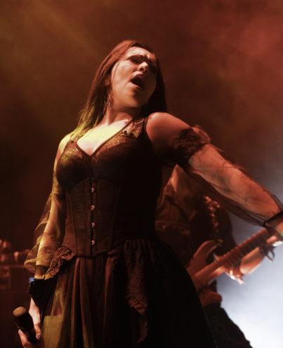 Sirenia tijdens Brainstorm Festival 2019