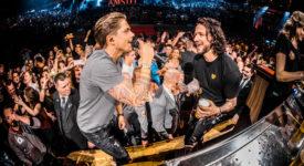 André Hazes en Kraantje Pappie tijden Vrienden van Amstel LIVE - Foto: Set Vexy (persbericht VVAL)