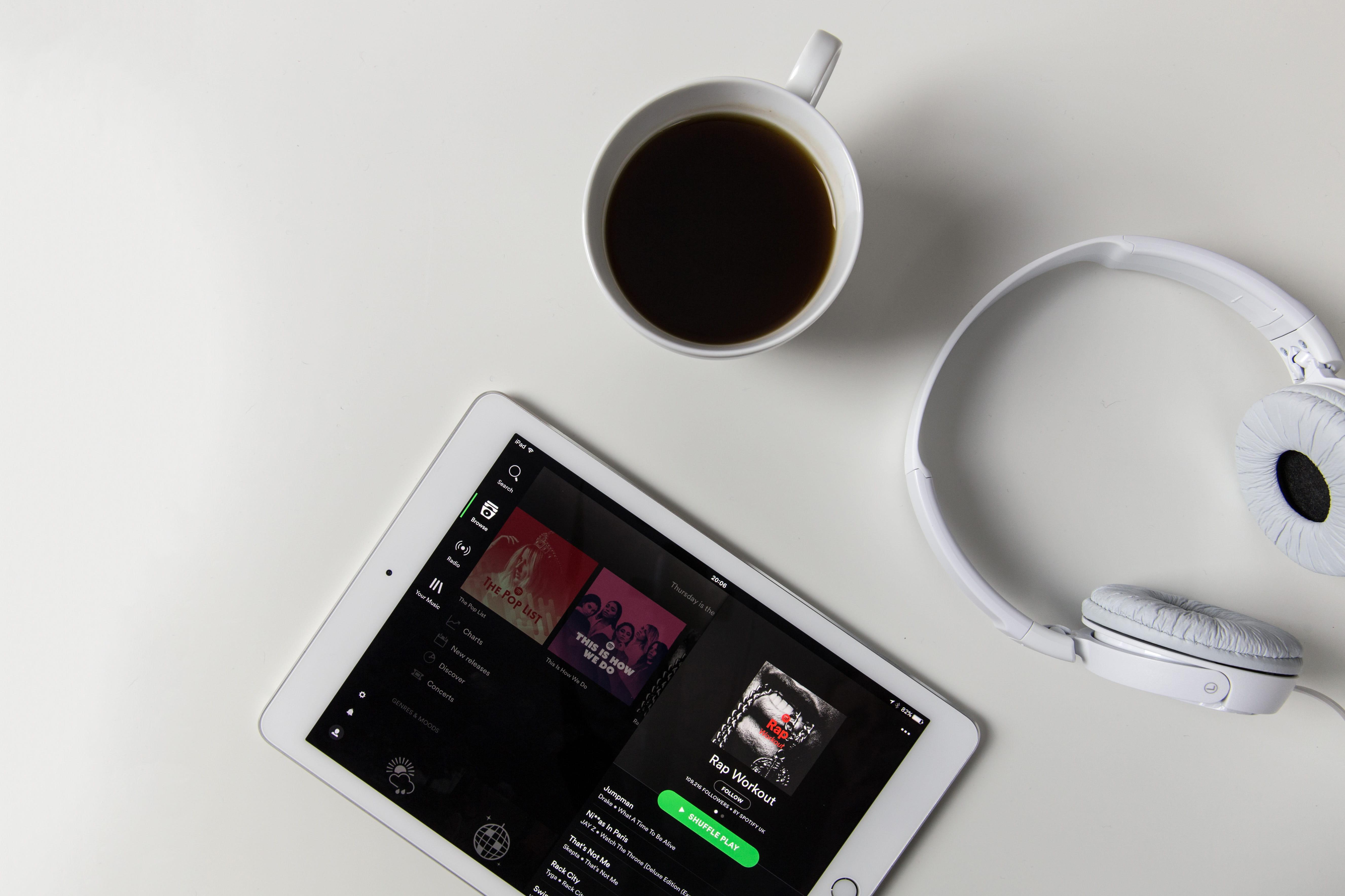 Spotify - Foto: pxfuel.com (publiek domein)